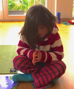 Tammy, 4yrs old - Indiv Yoga Kids
