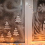 snow spray windows