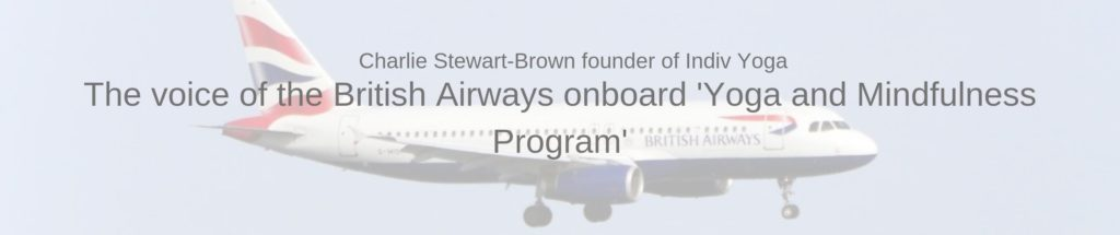 British Airways Yoga Onboard Program