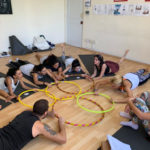 Kids Yoga Teacher Training Hula Hoops