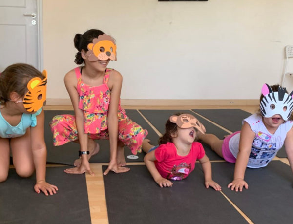 RCYT Cyprus Kids Animal Masks