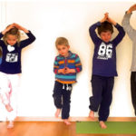 Kids Yoga Teacher Training Blancing