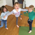 Kids Yoga Course Balancing