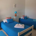 Portugal RYT 200 Course Turquoise Twin Bedroom