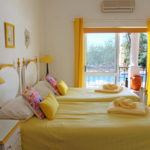 yoga retreat portugal Yellow Bedroom