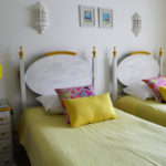 Portugal RYT 200 Course Twin Bedroom Yellow