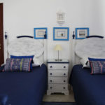 Portugal RYT 200 Course Twin Room Blue