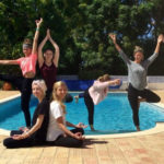 Poolside Yoga Fun RYT 200 Portugal