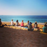 Morning Beach Meditation RYT 200 Portugal