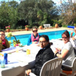 RYT 200 Teacher Training Portugal Poolside
