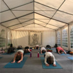 Childs Pose Yoga Tent Portugal