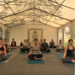 RYT 200 Portugal Tent Meditation