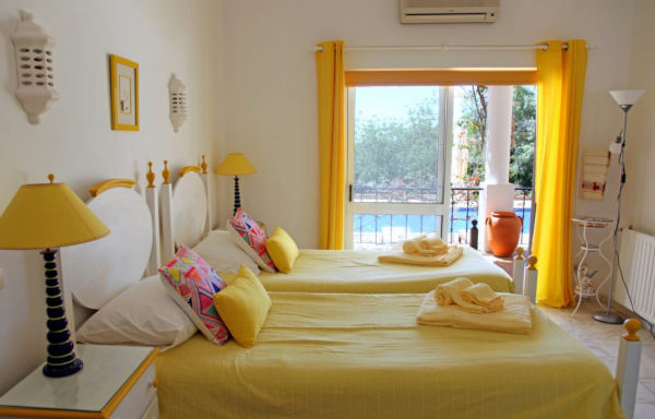 Yoga Retreat Yellow Bedroom