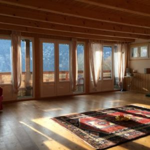 Yoga room 3 Weekend yoga retreat switzerland
