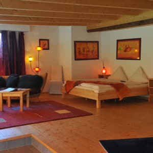 Double room 2 weekend yoga retreat switzerland